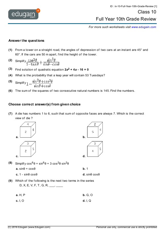 Full-Year-10th-Grade-Review