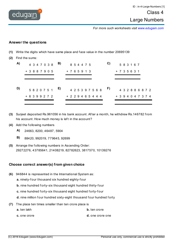 Large-Numbers